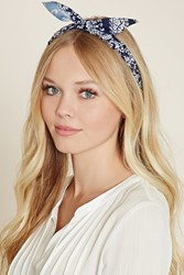 Forever 21 Floral Braided Headwrap