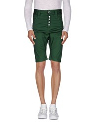 Humor Trousers Bermuda Shorts Men Green
