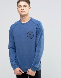 Original Penguin Crew Neck Sweat Jumper Blue