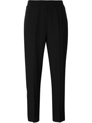 8Pm Elasticated Waist Trousers Black