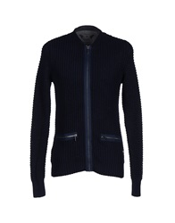 Only And Sons Cardigans Dark Blue