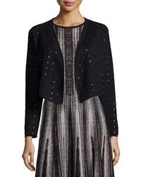 Nic Zoe Spotlight Sparkle Cardigan Black Onyx