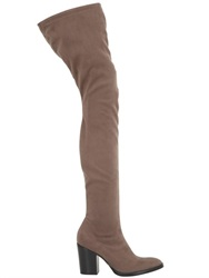 Strategia 80Mm Faux Suede Over The Knee Boots