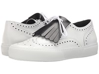 Robert Clergerie Tolka02 White Calf Leather