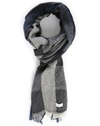 Billtornade Black Cevedale Checked Scarf