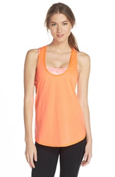 Hurley Dri Fit Tank And Racerback Sports Bra Hyper Orange
