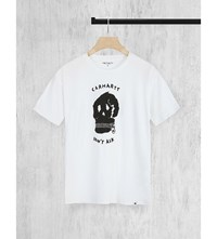 Carhartt Don't Ask Cotton Jersey T Shirt White Black