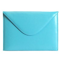 C Fan Envelope Sleeve Aqua