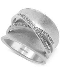 Effy Collection Effy Balissima Diamond Wrapped Ring 1 4 Ct. T.W. In Sterling Silver