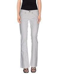 Miss Sixty Denim Denim Trousers Women White