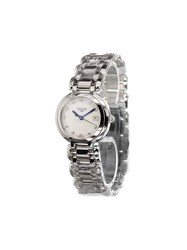 Longines 'Prima Luna' Analog Watch Metallic