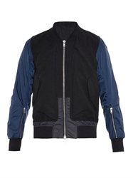 Tim Coppens Ma1 Contrast Panels Bomber Jacket