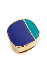 Women's Trina Turk Colorblock Enamel Ring