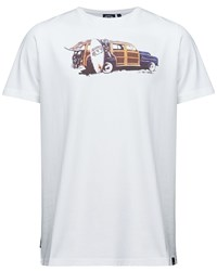 Animal Graphic Tee White