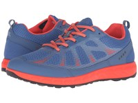 Ecco Terratrail Cobalt Cobalt Coral Blush Women's Shoes Blue