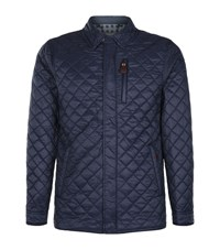 La Martina Quilted Jacket Male Navy