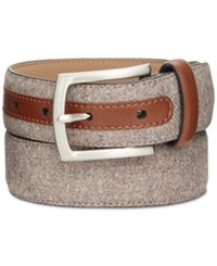 Tasso Elba 32Mm Feather Edge Fabric Dress Belt Only At Macy's