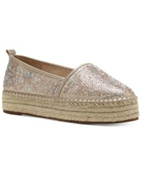 Inc International Concepts Women's Caleyy Espadrilles Only At Macy's Women's Shoes Champagne