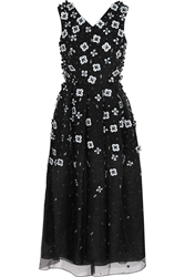 Holly Fulton Embellished Silk Organza Dress