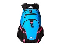 High Sierra Loop Backpack Pool Black Flamingo Backpack Bags Blue