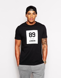 Boxfresh Leagate Logo T Shirt Black
