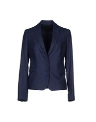 Tombolini Suits And Jackets Blazers Women Dark Blue