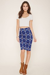 Forever 21 Tribal Inspired Print Skirt