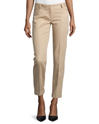 Laundry By Shelli Segal Slim Fit Twill Pants Oxford Tan
