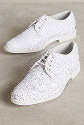 Anthropologie Miista Zoe Sequin Oxfords White