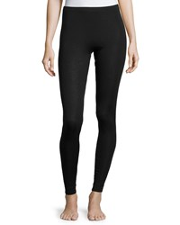 Hanro Cashmere Silk Blend Leggings Black