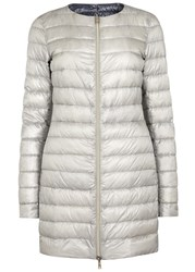 Herno Pearl Reversible Quilted Shell Jacket Grey