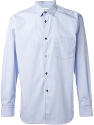 Comme Des Gara Ons Shirt Cut Out Detail Shirt White