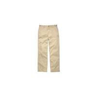 J.Crew Unhemmed Essential Chino In Relaxed Fit Khaki