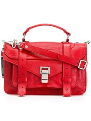 Proenza Schouler Mini 'Ps1' Satchel Red
