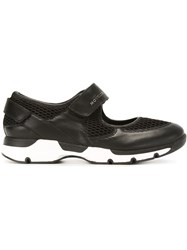 Moncler Cut Out Sneakers Black