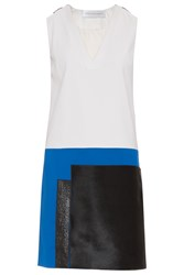 Victoria Beckham Women S V Neck Patch Tunic Boutique1 White