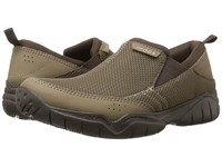 Crocs Swiftwater Mesh Moc Walnut Espresso Men's Moccasin Shoes Multi