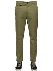 Golden Goose 18.5Cm Cotton Canvas Chino Trousers