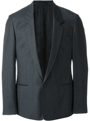 E. Tautz Single Button Jacket Grey