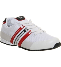 Adidas Y3 Y3 Sprint Trainers White Red Black