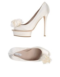 Le Silla Bridal Pumps Ivory