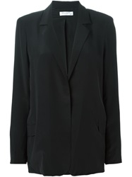 Equipment Loose Fit Blazer Black