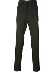 Vivienne Westwood Man Slim Leg Trousers Green