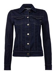 Replay Classic Denim Jacket Denim Dark Indigo