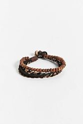 Urban Outfitters Bead Weave Bracelet Brown