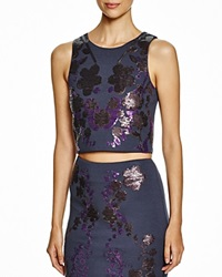 Cynthia Rowley Sequin Applique Shell Top