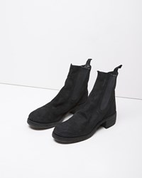 Guidi Chelsea Boot Black