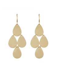 Irene Neuwirth Yellow Gold Chandelier Earrings