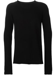 Lost And Found Crew Neck Sweater Black