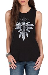 Volcom Women's Fun Seaker Screenprint Muscle Tank